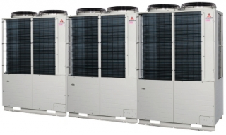 Heat pump combination systems 42, 44, 46, 48, 50, 52, 54, 56, 58, 60HP (120.0kW~168.0kW)