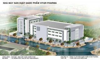 Công trình Nhà máy SX Dược phẩm Vitar Pharma